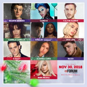 102.7 KIIS FM's Jingle Ball 2018