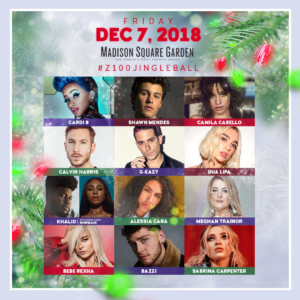 Z100's Jingle Ball 2018