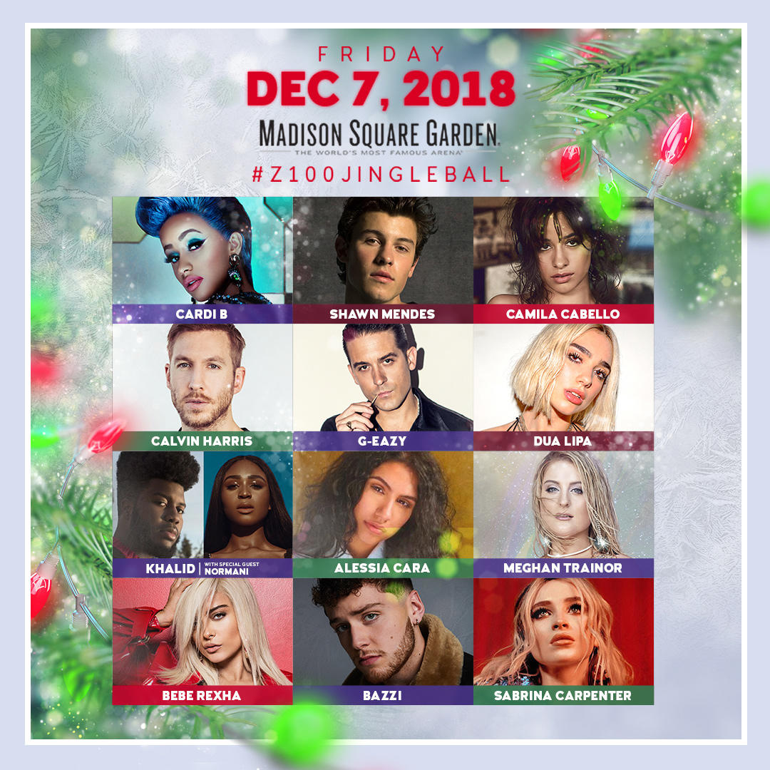 Z100's Jingle Ball 2018