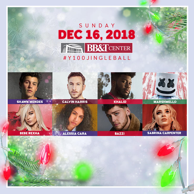 Y100's Jingle Ball 2018