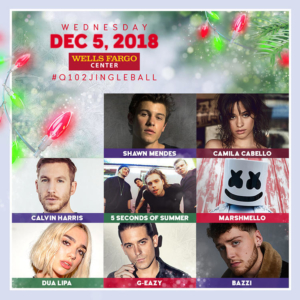 Q102's Jingle Ball 2018