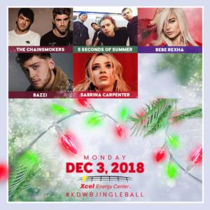 101.3 KDWB's Jingle Ball 2018