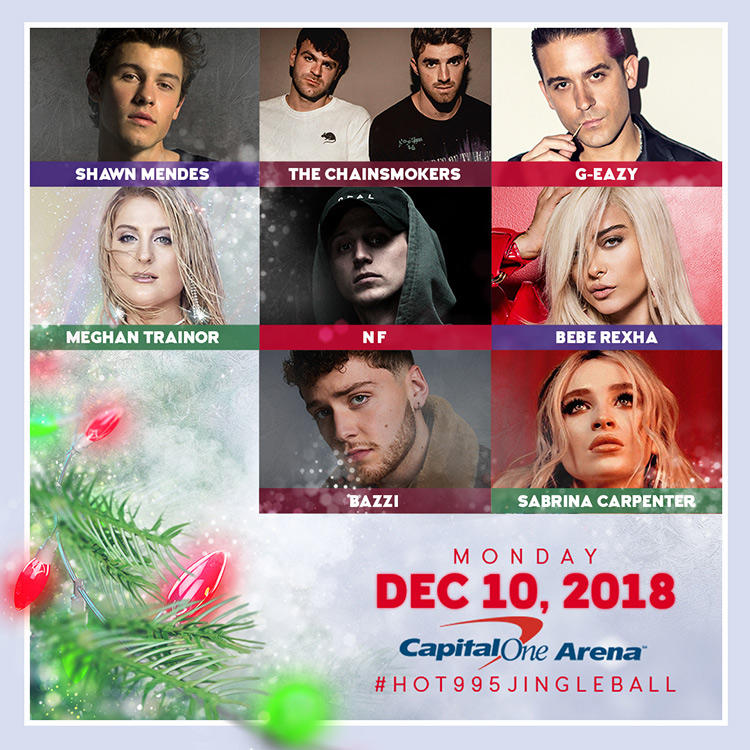 HOT 99.5's Jingle Ball 2018