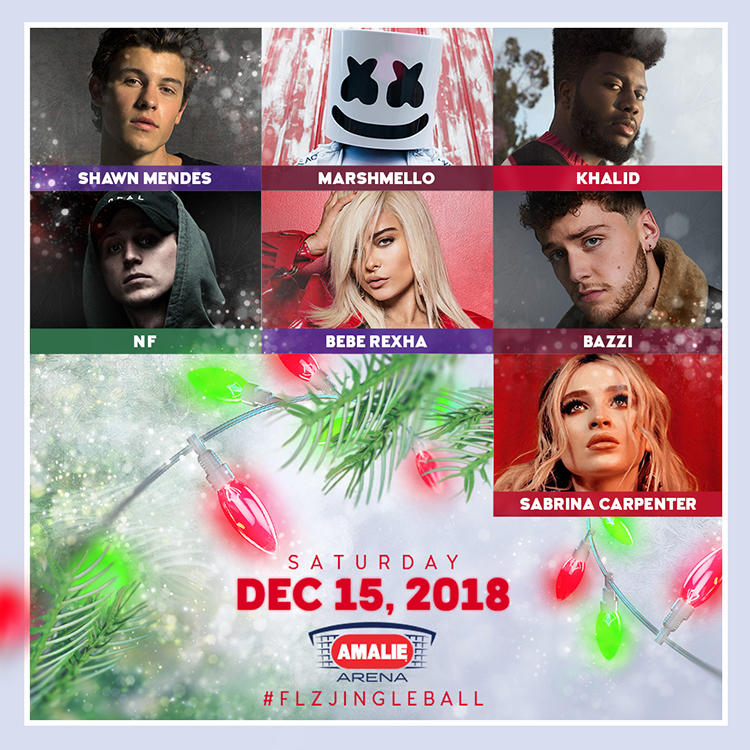 93.3 FLZ's Jingle Ball 2018