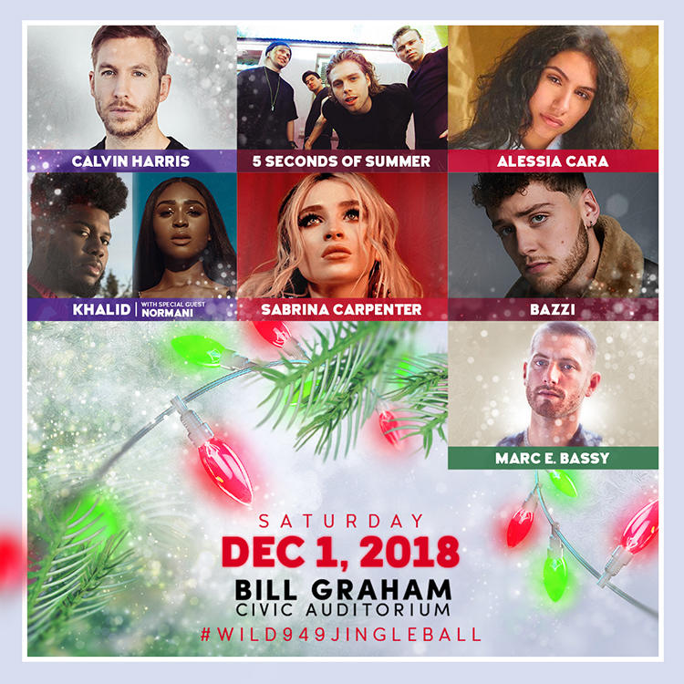 WiLD 94.9's Jingle Ball 2018
