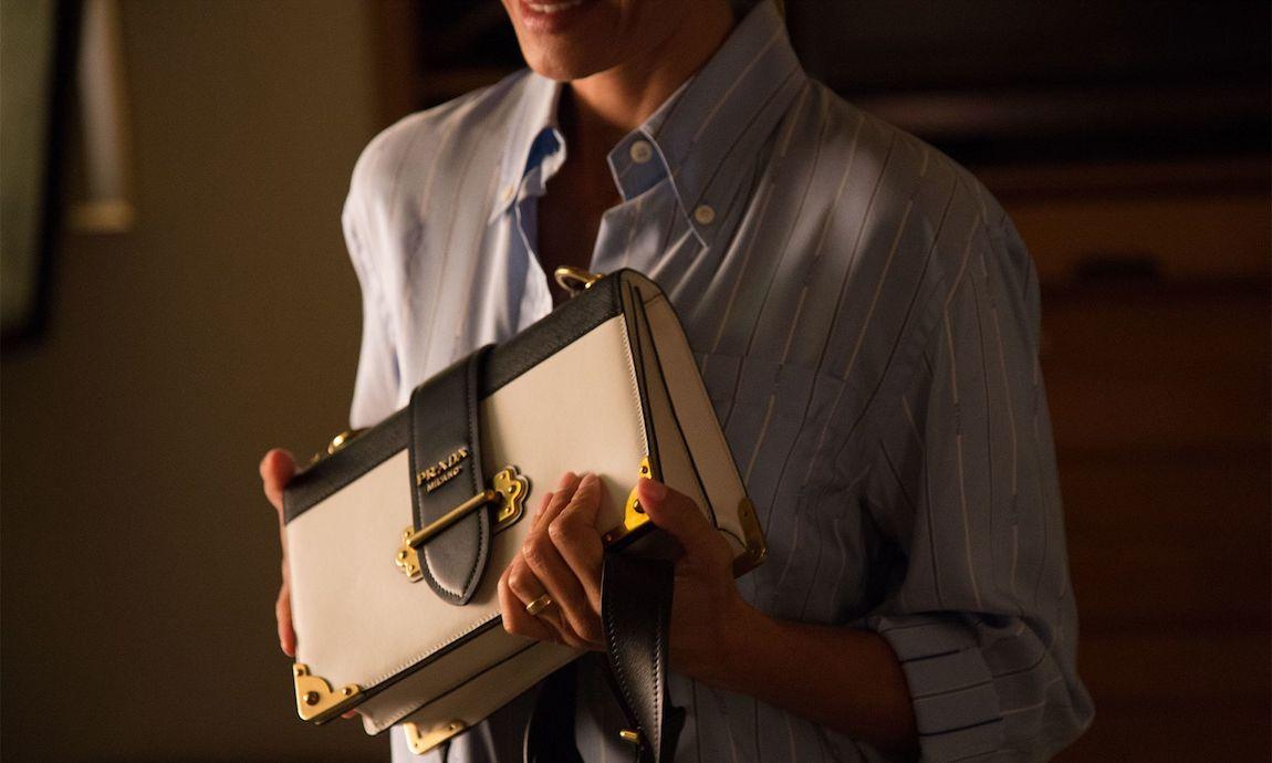 Prada Cahier Bag JK Simmons