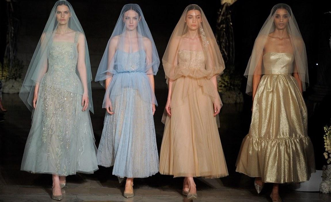 Reem Acra Bridal Fall 2019