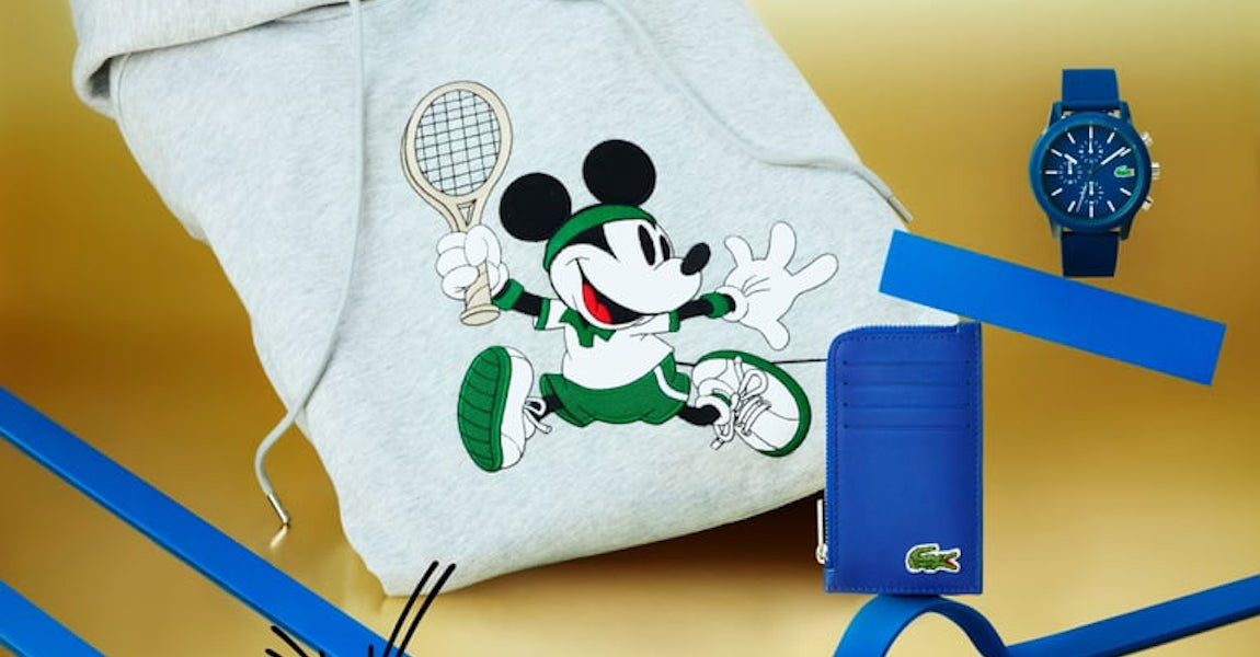 Lacoste and Disney