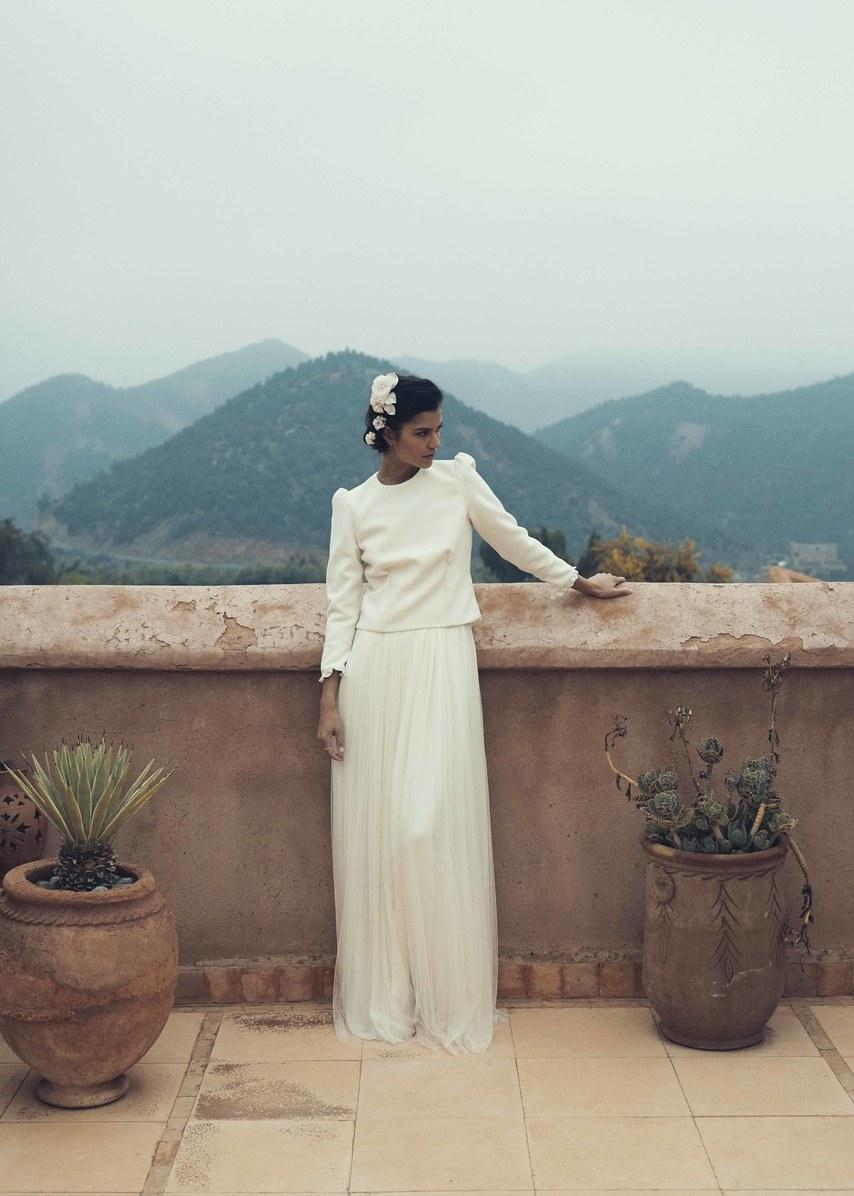 Laure de Sagazan Bridal Fall 2019