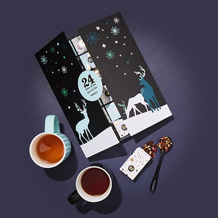 10 of the most creative treat filled advent calendars of 2018. Black Bedroom Furniture Sets. Home Design Ideas