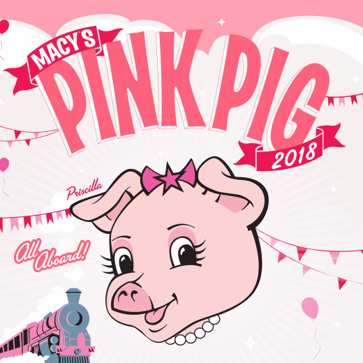 Macy's Pink Pig 2018