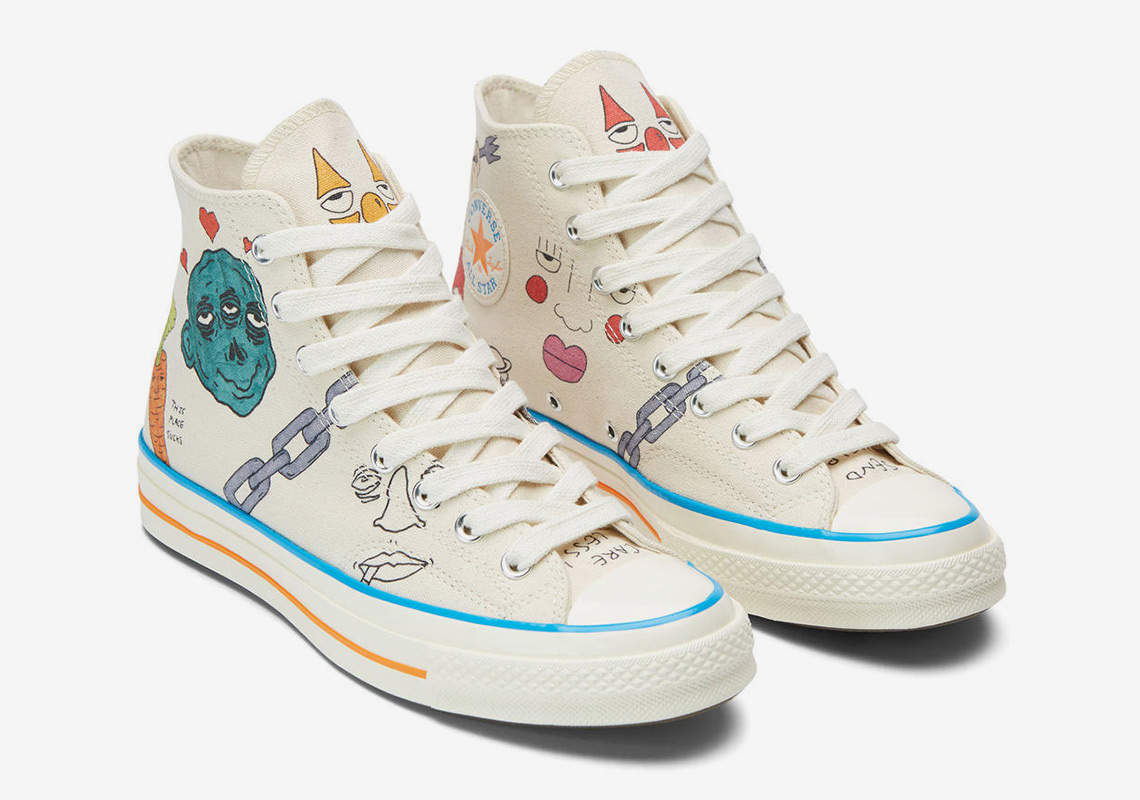 Tyler the Creator Converse Artist Series