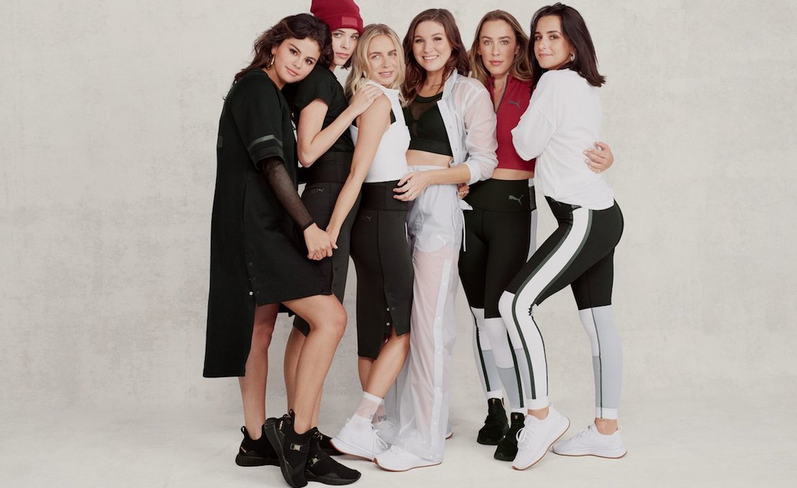 Selena Gomez SG x PUMA Collection
