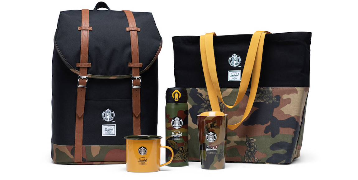 Herschel Supply Starbucks