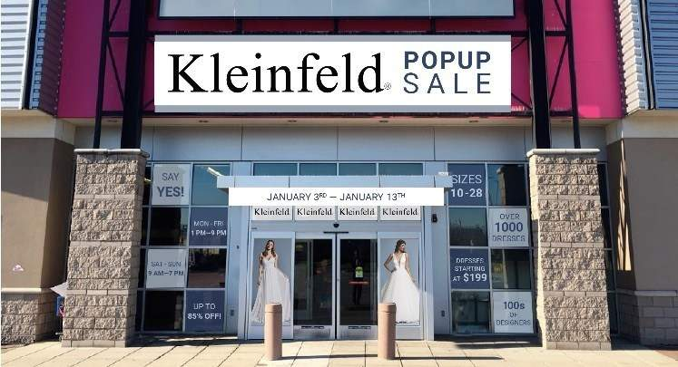 Kleinfeld Bridal Pop-Up