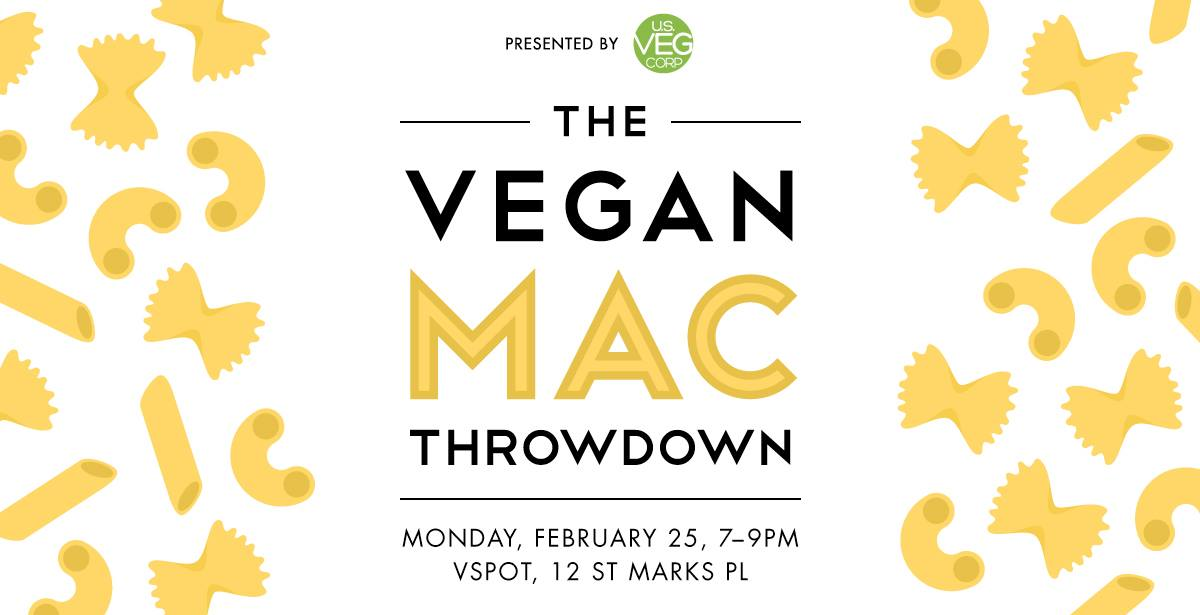Vegan Mac Throwdown