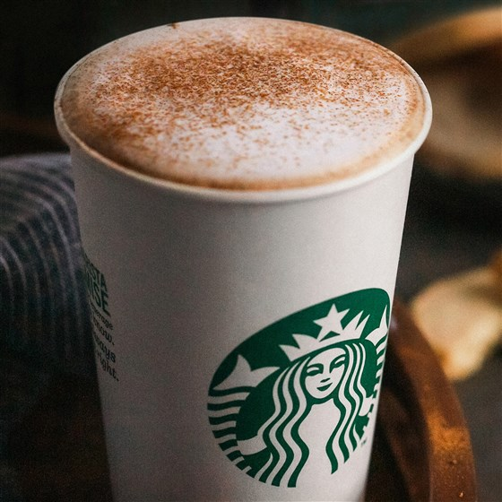 Starbucks Cinnamon Shortbread Latte