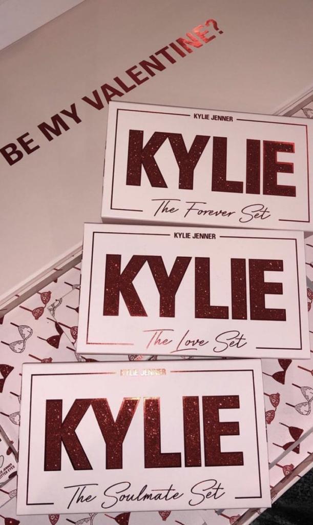 Kylie Cosmetics Valentine's Day 2019