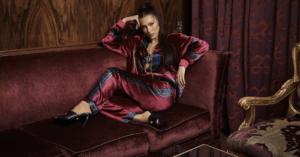 Bella Hadid KITH x Versace