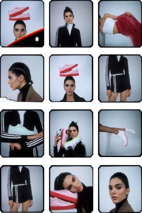 Kendall Jenner Adidas Spring/Summer 2019
