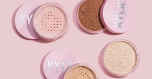 The 21-year-old starlet's latest beauty drop includes another first for the label: six Kylie Cosmetics setting powders