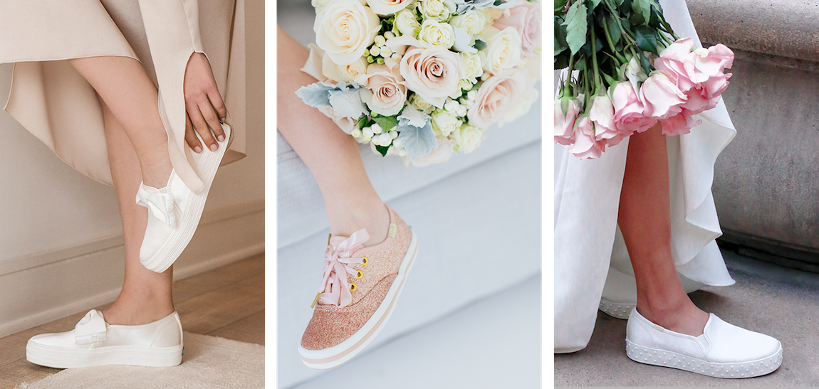 Kate Spade Keds Wedding Sneakers