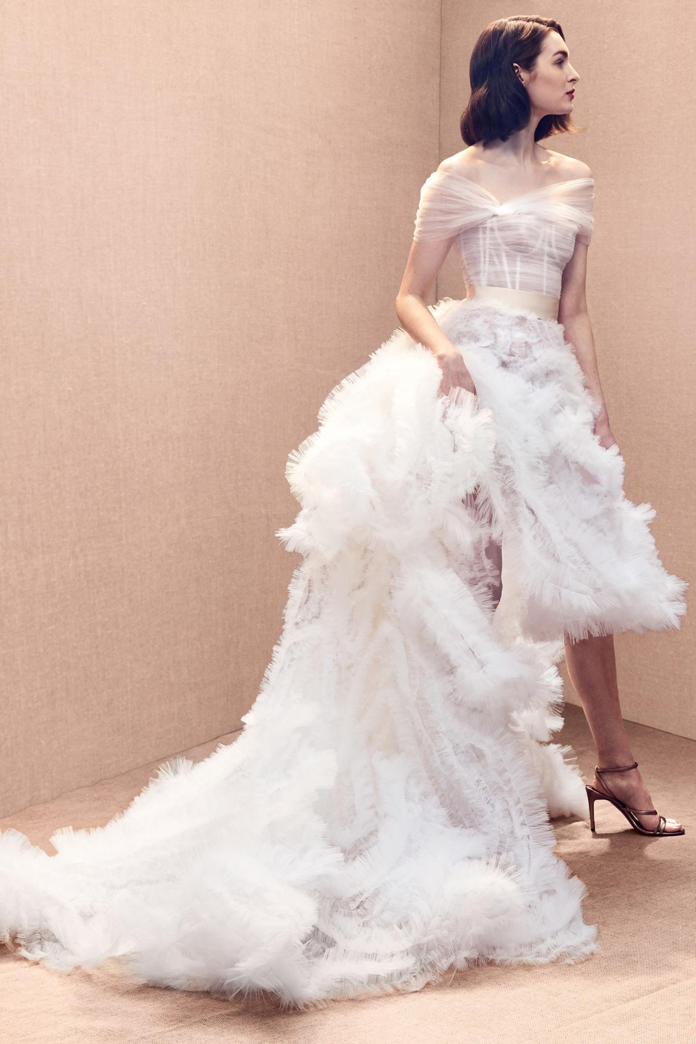Oscar de la Renta Bridal Spring 2020