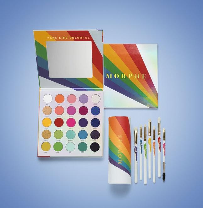 Morphe Pride makeup 2019