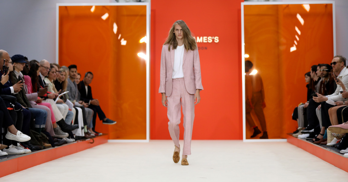 St. James's London Fashion Week Men's