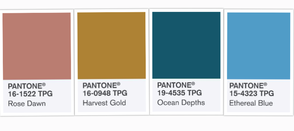 Pantone Travel Colors 2019