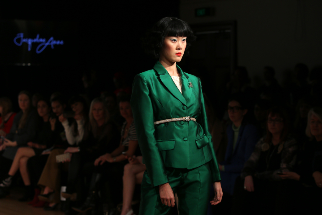 Jacqueline Anne Couture show during New Zealand Fashion Week 2019