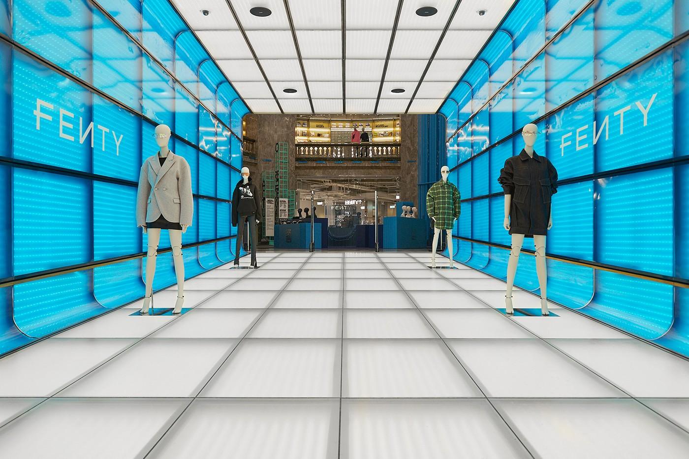 Galeries Lafayette Champs-Élysées FENTY