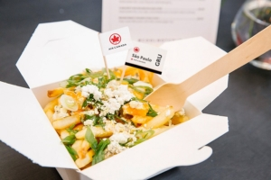 Air Canada Poutine Boston