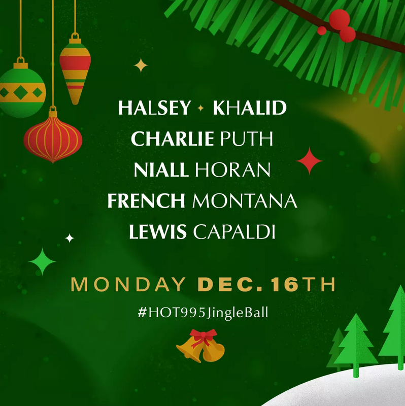 HOT 99.5's Jingle Ball 2019