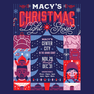 Macy's Christmas Light Show 2019