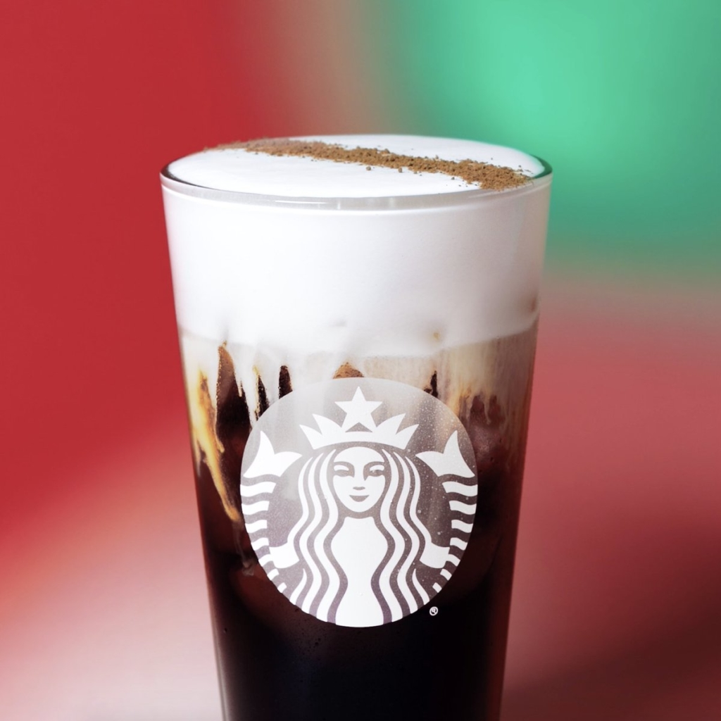 Starbucks Irish cream Cold Brew