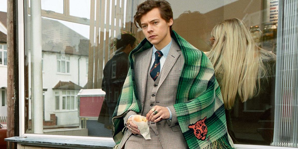 Harry Styles x Alessandro Michele