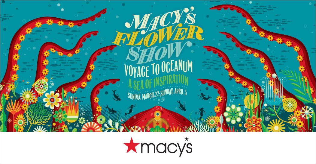 Macy's Flower Show 2020