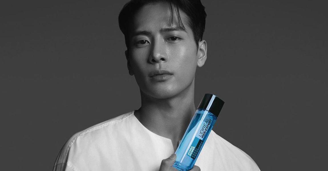 Jackson Wang L'Oreal Men Expert