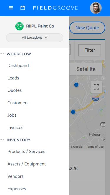FieldGroove Job Mobile