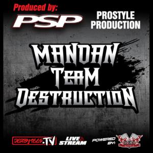 2016 Mandan Team Demolition Derby
