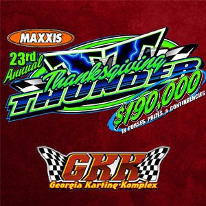 23rd Annual Thanksgiving Thunder Kart Event - Night 3