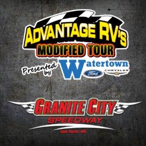 Granite City Speedway 7/12/16 Advantage RV Mod Tour Races