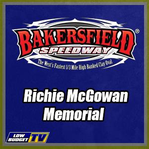REPLAY: Bakersfield Speedway Richie McGowan Memorial 6-24-17