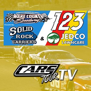 CARS Tour - Solid Rock Carriers 123 presented by JEDCO Lawn Care