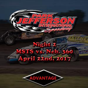 Night 2, Weekly + MSTS vs. Neb. 360 Sprints