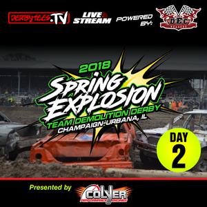 2018 Spring Explosion Team Derby - Day 2
