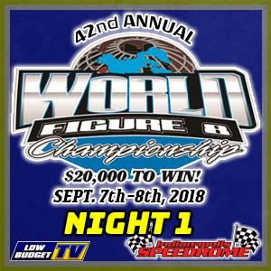 World Championship 3 Hour Figure 8 Endurance Race Night 1