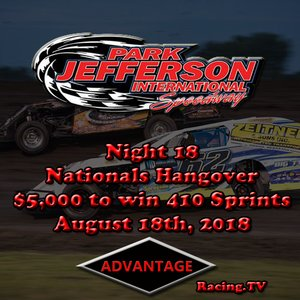Watch Live! 1st Annual Nationals Hangover $5,000 to win 410