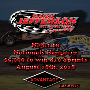 1st Annual Nationals Hangover $5,000 to win 410 Sprint Cars